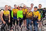 Member of the Tralee Tri Club taking part inthe Valentia Triathlon on Saturday were l-r; J.J.Coffey, Julie Beahan, John Kelleher, Dermot Delane, Siobhan Griffin, Brian O'Connor, Leanne McCarthy, Patrick Galvin, Maura Short & Pádraig O'Connor.