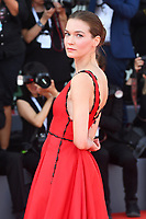 VENICE, ITALY - AUGUST 30: Canadian actress Hannah Gross attends the screening of The Mountain during the 75th Venice Film Festival at Sala Grande on August 30, 2018 in Venice, Italy.<br /> CAP/BEL<br /> &copy;BEL/Capital Pictures
