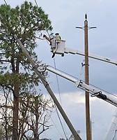 2017 FPL Hurricane Irma restoration in Fort Myers, Fla. on Sept. 14, 2017.