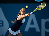 MONICA PUIG (PUR)<br /> <br /> Apia International <br /> Tennis - Apia International, 2016  - Tournament - Sydney Olympic Park, Sydney, New South Wales, Australia, January 2016<br /> <br /> &copy; AMN IMAGES / FREY