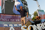 Spanish politician Pablo Iglesias during the closing of the electoral campaign of Unidos Podemos. 24,06,2016. (ALTERPHOTOS/Rodrigo Jimenez)