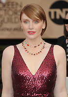 www.acepixs.com<br /> <br /> January 29 2017, LA<br /> <br /> Bryce Dallas Howard arriving at the 23rd Annual Screen Actors Guild Awards at The Shrine Expo Hall on January 29, 2017 in Los Angeles, California<br /> <br /> By Line: Peter West/ACE Pictures<br /> <br /> <br /> ACE Pictures Inc<br /> Tel: 6467670430<br /> Email: info@acepixs.com<br /> www.acepixs.com