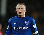 Wayne Rooney of Everton during the premier league match at the Goodison Park Stadium, Liverpool. Picture date 2nd December 2017. Picture credit should read: Simon Bellis/Sportimage