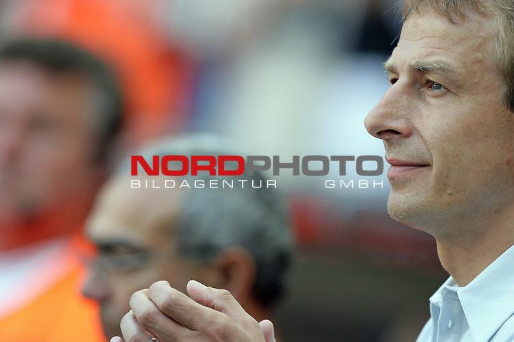 FIFA WM 2006 -  Round of Sixteen - / Viertelfinale <br /> Play    #49 (24-Jun) - Deutschland - Schweden 2:0<br /> <br /> J&uuml;rgen Klinsmann ( Juergen ) - Portait - Halbformat quer<br /> <br /> Foto &copy; nordphoto