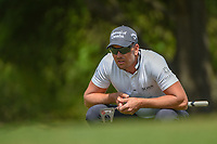Henrik Stenson (SWE) lines up his putt on 1 during day 1 of the WGC Dell Match Play, at the Austin Country Club, Austin, Texas, USA. 3/27/2019.<br /> Picture: Golffile | Ken Murray<br /> <br /> <br /> All photo usage must carry mandatory copyright credit (© Golffile | Ken Murray)