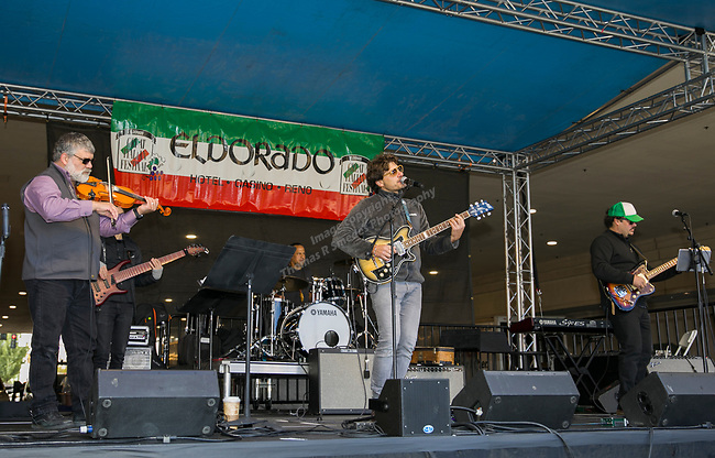 Mbrascatu performs during the Italian Festival held in downtown Reno outside of the Eldorado Hotel and Casino on Sunday afternoon, October 7, 2018.
