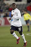 19 November 2008: Freddy Adu (AS Monaco)(10) of the USA.  The United States Men's National Team defeated the visiting Guatemala Men's National Team 2-0 at Dick's Sporting Goods Park in Commerce City, Colorado in a CONCACAF semifinal round FIFA 2010 South Africa World Cup Qualifier.