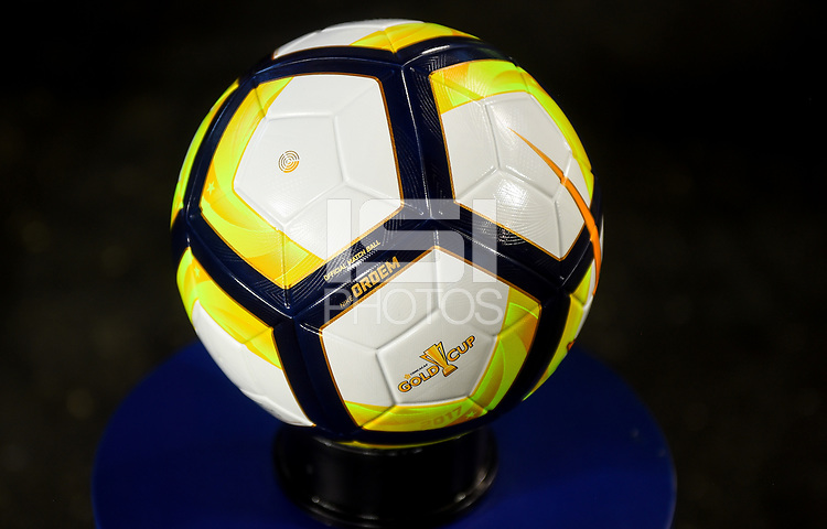 Philadelphia, PA - Wednesday July 19, 2017: NIKE Gold Cup game ball during a 2017 Gold Cup match between the men's national teams of the United States (USA) and El Salvador (SLV) at Lincoln Financial Field.