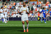 Saturday 22 September 2012 <br /> Pictured: Itay Shechter<br /> Barclays Premiership, Swansea City v Everton at the Liberty Stadium, south Wales.