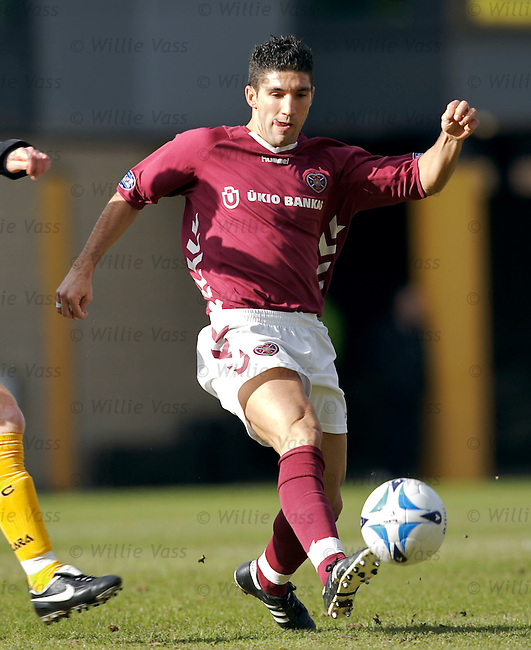 Bruno Aguiar, Hearts.stock season 2005-2006.pic willie vass