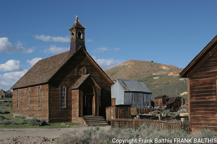 Church at Bodie SHP