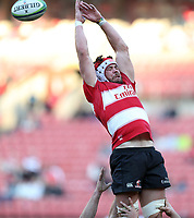 Warren Whiteley (captain) of the Emirates Lions  during the Super Rugby quarter-final match between the Emirates Lions and the Jaguares at the Emirates Airlines Park Stadium,Johannesburg, South Africa on Saturday, 21 July 2018. Photo: Steve Haag / stevehaagsports.com