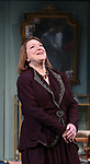Kristine Nielsen during Broadway Opening Night  curtain call for 'Present Laughter' at the St. James Theatre on April 5, 2017 in New York City.