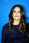 "Actress SALMA HAYEK poses for photographers at the photocall for the film ""As Luck Would Have It"" during the 62nd Berlin International Film Festival Berlinale."