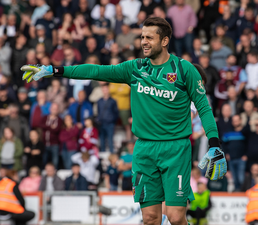 West Ham United's Lukasz Fabianski <br /> <br /> Photographer David Horton/CameraSport<br /> <br /> The Premier League - Bournemouth v West Ham United - Saturday 28th September 2019 - Vitality Stadium - Bournemouth<br /> <br /> World Copyright © 2019 CameraSport. All rights reserved. 43 Linden Ave. Countesthorpe. Leicester. England. LE8 5PG - Tel: +44 (0) 116 277 4147 - admin@camerasport.com - www.camerasport.com
