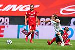 Foul an Niclas Füllkrug / Fuellkrug (Werder Bremen #11)<br /> <br /> <br /> Sport: nphgm001: Fussball: 1. Bundesliga: Saison 19/20: 33. Spieltag: 1. FSV Mainz 05 vs SV Werder Bremen 20.06.2020<br /> <br /> Foto: gumzmedia/nordphoto/POOL <br /> <br /> DFL regulations prohibit any use of photographs as image sequences and/or quasi-video.<br /> EDITORIAL USE ONLY<br /> National and international News-Agencies OUT.