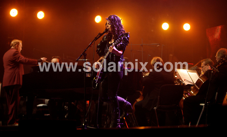 **ALL ROUND PICTURES FROM SOLARPIX.COM**.**SYNDICATION RIGHTS FOR UK AND SPAIN ONLY**.British musician Katie Melua during the closing concert of 'Jazz open 2009' in Stuttgart, Germany. 26 July 2009..This pic: Katie Melua..JOB REF: 9615 CPR        DATE: 26_07_2009.**MUST CREDIT SOLARPIX.COM OR DOUBLE FEE WILL BE CHARGED**.**MUST NOTIFY SOLARPIX OF ONLINE USAGE**.**CALL US ON: +34 952 811 768 or LOW RATE FROM UK 0844 617 7637**