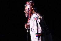 George Clinton performs at the Martin Luther King Day Celebration at the Brooklyn Academy of Music on January 7, 2005.
