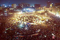 EGYPT / Cairo / 27.11.2012 / Thousands of people have gathered in Tahrir square to protest President Morsi's above-the-law constitutional declaration © Giulia Marchi