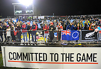 Fans wait in the terraces after the 2017 DHL Lions Series rugby union match between the NZ Provincial Barbarians and British & Irish Lions at Toll Stadium in Whangarei, New Zealand on Saturday, 3 June 2017. Photo: Dave Lintott / lintottphoto.co.nz