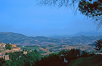 Urbino: 2.  Town Panorama.  Photo '83.