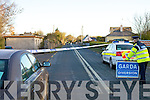 A portion of road just outside Killorglin at Tinahalla was cordoned off on Friday evening last at the scene of a hit and run which claimed the life of local man Niall Collins.  The scene was being preserved for technical examination.  Mr Collins had left the Golf Club and was walking home when he was struck by a car not more than 50 yards from his own home.