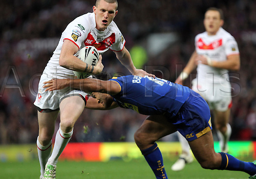 08.10.2011 Manchester England.  Lee Gaskell  In action during the Engage Super League Grand Final match between Leeds Rhinos and St Helens played at Old Trafford. Mandatory credit: ActionPlus