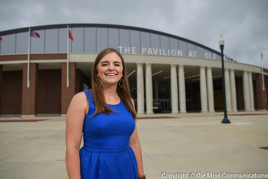 Brittany Deisher. Photo by Thomas Graning/Ole Miss Communications