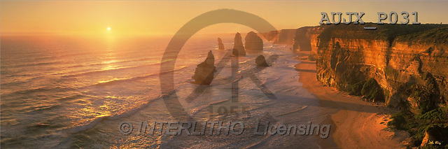 Dr. Xiong, LANDSCAPES, panoramic, photos, Twelve Apostels, Australia(AUJXP031,#L#)
