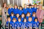 The Junior Infants Class - Ms. Deenihan's Class in the Sacred Heart Primary School (Presentation Primary), Tralee..Front row l-r: Lily Pozzi, Leah Buckley, Kate Fitzsimons, Kate Somers, Dominika Polowczyk, Gabriella Fernandez.Second row l-r: Olivia Andrzejczak, Alexandra O'Sullivan, Cliona Murphy, Aoife Barrett, Aisling O'Donnell.Back row l-r: Ms. Keelin Deenihan, Katelyn Leen, Carla Wisniewski, Rellaine Guardiano, Wiktoria Stepien, Ciara Yen Yong, Danielle Shanahan and Debra O'Leary