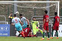 Kubilay Kanatsizkus scores Turkey U21's second goal and celebrates during Portugal Under-19 vs Turkey Under-21, Tournoi Maurice Revello Football at Stade Parsemain on 3rd June 2018