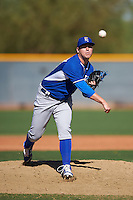 Kansas City Royals pitcher Jake Newberry (49) during an Instructional League game against the Texas Rangers on October 4, 2016 at the Surprise Stadium Complex in Surprise, Arizona.  (Mike Janes/Four Seam Images)