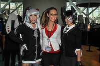 Jessica Kinni and cosplayers<br />
