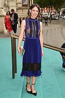 Jessica Raine<br /> arrives for the V&amp;A Summer Party 2016, South Kensington, London.<br /> <br /> <br /> &copy;Ash Knotek  D3135  22/06/2016