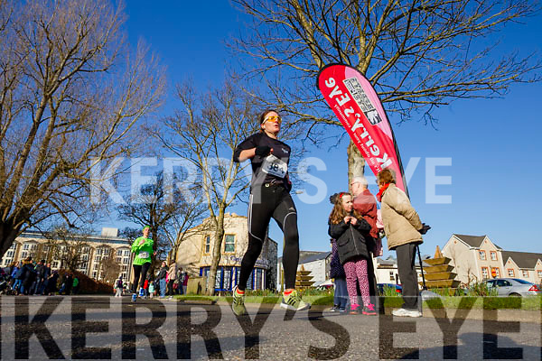 Susan O'Sullivan, pictured at the Kerry's Eye Valentines Weekend 10 mile road race on Sunday.