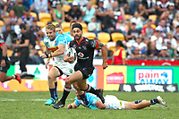 Shaun Johnson. Vodafone Warriors v Gold Coast Titans, NRL Rugby League round 2, Mt Smart Stadium, Auckland. 17 March 2018. Copyright Image: Renee McKay / www.photosport.nz
