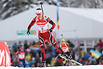IBU Biathlon World Cup<br /> &copy; Pierre Teyssot<br />  Synnoeve Solemdal (NOR SVK) in action during the IBU Biathlon World Cup in Hochfilzen, Austria.
