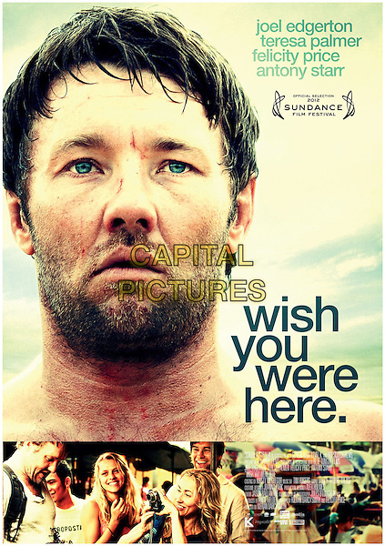 POSTER ART<br /> in Wish You Were Here (2012) <br /> *Filmstill - Editorial Use Only*<br /> CAP/FB<br /> Image supplied by Capital Pictures