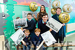 Ballyduff Central National School. Celebrating 50 Years This Year And Are Looking For Old Photographs Ahead Of Celebrations. Pictured are the Youngest and Oldest Students with Deputy and Principal, Tadhg Sheridan and Conor Fitzgerald,  David White and Ben Murphy, Aine Corridon and Marie Lucid