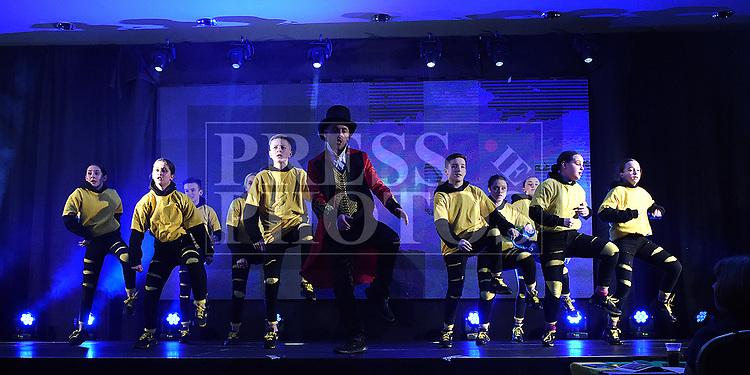 JP's Swag Show in the Naomh Fionnbarra / St Annes Lip Sync in City North hotel. Photo:Colin Bell/pressphotos.ie