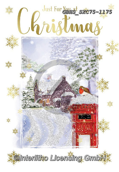 John, CHRISTMAS SYMBOLS, WEIHNACHTEN SYMBOLE, NAVIDAD SÍMBOLOS,letter box,mailbox, paintings+++++,GBHSSXC75-1175,#xx#
