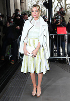 Laura Whitmore arriving for the TRIC Awards 2014, at Grosvenor House Hotel, London. 11/03/2014 Picture by: Alexandra Glen / Featureflash