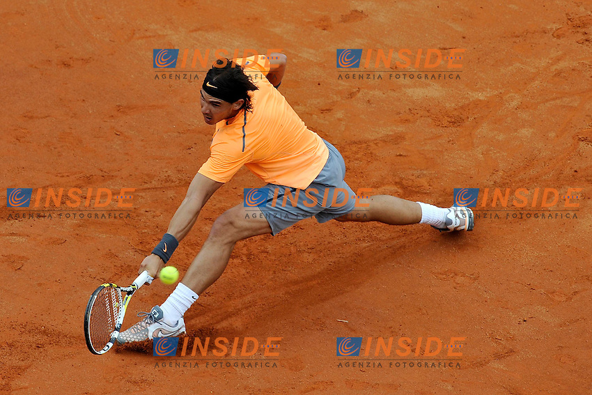 Rafael Nadal of Spain.Men singles final.Roma 21/05/2012 Foro Italico.Tennis Internazionali d'Italia.Foto Insidefoto Antonietta Baldassarre