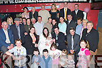 Fiona Barrett & Sean O'Callaghan, Stacks Villas, seated between Godparents Deidre O'Keefe and Andrew O'Callaghan, having a wonderful time with family and friends at the Christening party of their daughter Abigail held in The Greyhound Bar on Sunday afternoon..