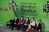 BRASILIA, DF, 04 DE JULHO DE 2012 - Cerimonia de lançamento do Plano Safra da Agricultura Familiar 2012/2013 - Foto: Pedro Franca/Brazil Photo Press
