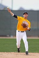 January 16, 2010:  Brad Salgado (Temecula, CA) of the Baseball Factory California Team during the 2010 Under Armour Pre-Season All-America Tournament at Kino Sports Complex in Tucson, AZ.  Photo By Mike Janes/Four Seam Images