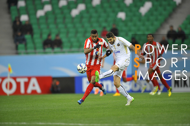Bunyodkor vs Al Jazeera during the 2015 AFC Champions League Play offmatch on February 17, 2015 at the Bunyodkor Stadium in Tashkent, Uzbekistan. Photo by Anvar Ilyasov / World Sport Group