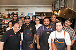New York, NY - March 27, 2018: Chef Adrian Cruz of Rock Ur Belly Catering and Grub Run in Texas presents a dinner entitled &quot;My Mother's Migrant Kitchen at the James Beard House in Greenwich Village.<br /> <br /> CREDIT: Clay Williams for The James Beard Foundation.<br /> <br /> &copy; Clay Williams / http://claywilliamsphoto.com