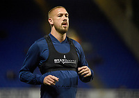 Ipswich Town's Luke Chambers during the pre-match warm-up <br /> <br /> Photographer Hannah Fountain/CameraSport<br /> <br /> The EFL Sky Bet Championship - Ipswich Town v Middlesbrough - Tuesday 2nd October 2018 - Portman Road - Ipswich<br /> <br /> World Copyright &copy; 2018 CameraSport. All rights reserved. 43 Linden Ave. Countesthorpe. Leicester. England. LE8 5PG - Tel: +44 (0) 116 277 4147 - admin@camerasport.com - www.camerasport.com