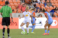Houston, TX - Saturday July 30, 2016: Lynn Williams during a regular season National Women's Soccer League (NWSL) match between the Houston Dash and the Western New York Flash at BBVA Compass Stadium.